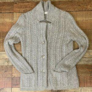 Kenar Womens Ladies Angora Blend Cardigan Jacket S